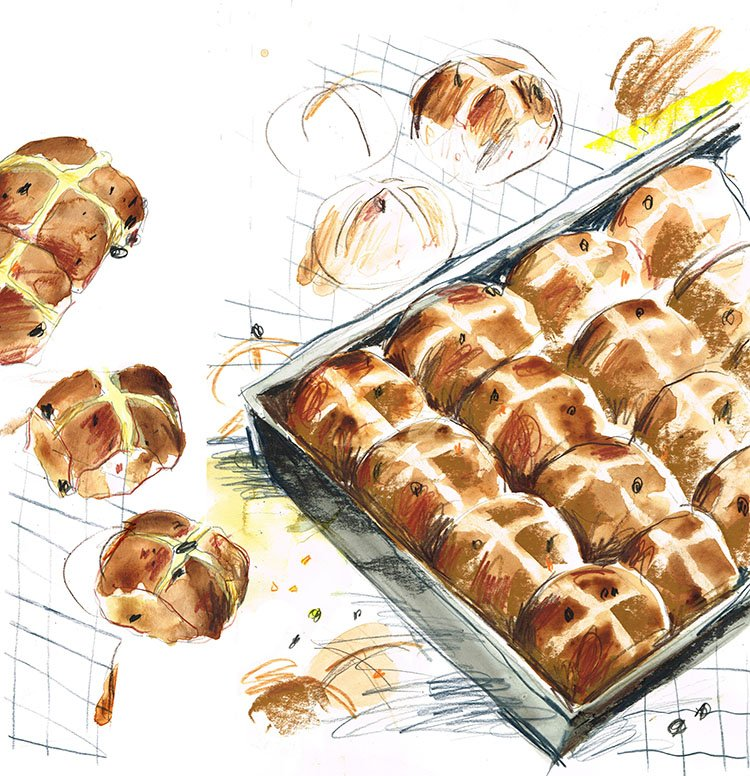 hot cross buns laura mckendry