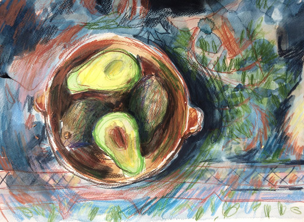 bowl of avocados laura mckendry
