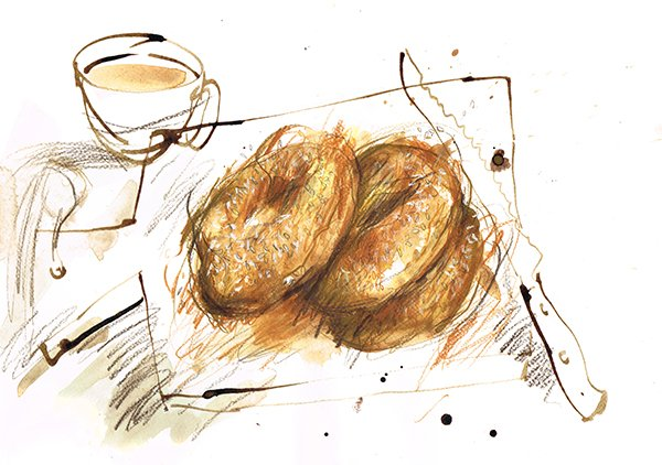 koulouri rings laura mckendry food illustrator