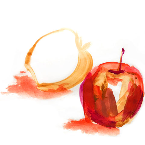 lauramckendry corporate team building drawing session apples