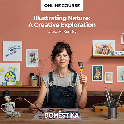 domestika laura mckendry illustrating nature a creative exploration
